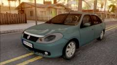 Renault Symbol 2009 Expression Version pour GTA San Andreas