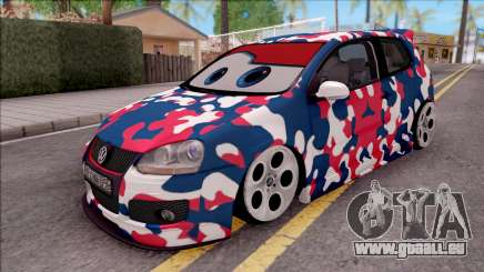 Volkswagen Golf BK GARAGE pour GTA San Andreas