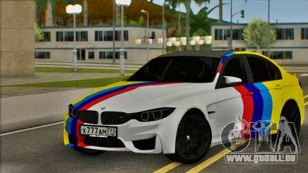 BMW M3 F30 pour GTA San Andreas