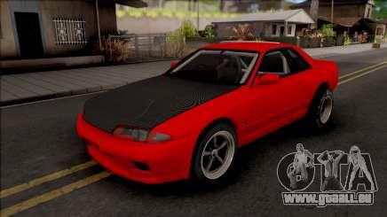 Nissan Skyline R32 Drag v2 für GTA San Andreas