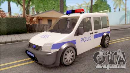 Ford Tourneo Connect K210S Turkish Police pour GTA San Andreas