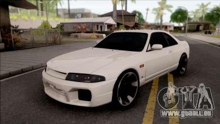 Nissan Skyline R33 v2 für GTA San Andreas