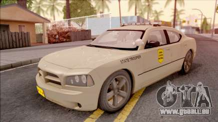 Dodge Charger Gold 2007 Iowa State Patrol für GTA San Andreas