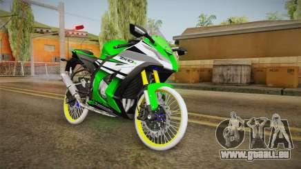 Kawasaki ZX10 R R17 für GTA San Andreas