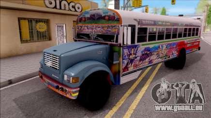 Diablo Rojo Panama Blue Bird pour GTA San Andreas