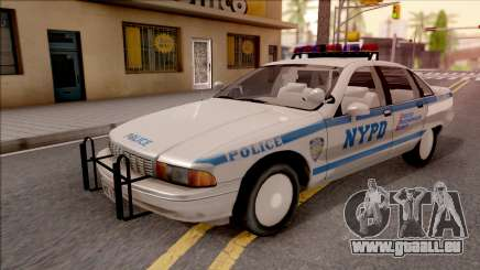 Chevrolet Caprice Police NYPD pour GTA San Andreas