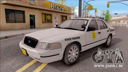 Ford Crown Victoria 2007 Iowa State Patrol für GTA San Andreas