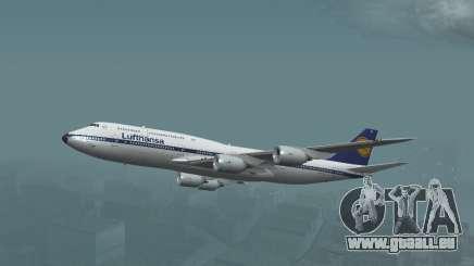 Lufthansa 747-8i Retro-Lackierung für GTA San Andreas