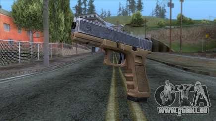 Glock 17 v3 für GTA San Andreas