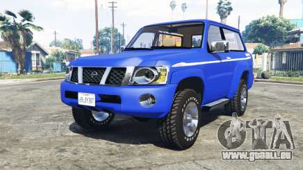 Nissan Patrol GL VTC (Y61) 2016 v1.1 [add-on] pour GTA 5