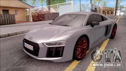 Audi R8 V10 Plus 2018 EU Plate pour GTA San Andreas