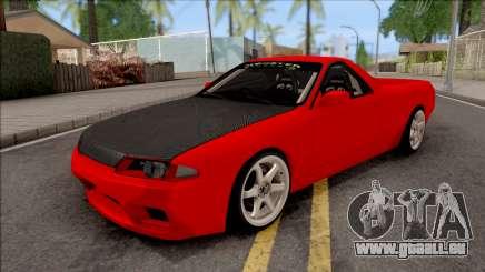 Nissan Skyline R32 Pickup Drift Monster Energy für GTA San Andreas