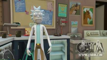 Rick Sanchez (Rick and Morty) [Add-On] 2.2 pour GTA 5