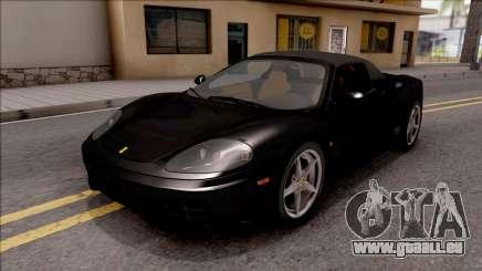 Ferrari 360 Spider US-Spec 2000 IVF pour GTA San Andreas