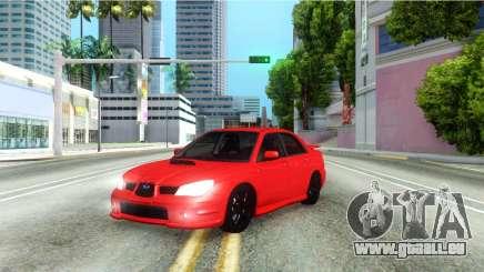 Subaru Impreza WRX Hawkeye Baby Driver v.1 pour GTA San Andreas