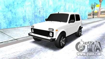 VAZ 2121 arménien blanc pour GTA San Andreas