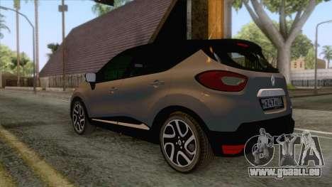 Renault Captur für GTA San Andreas rechten Ansicht