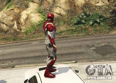 GTA 5 Iron Man Mark 47 1.3 deuxième capture d'écran