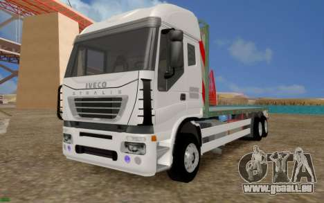 Iveco Stralis Camion PAS EXTRAS pour GTA San Andreas