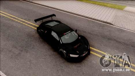 Audi R8 LMS pour GTA San Andreas vue de droite