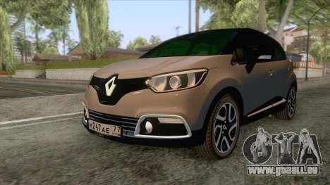 Renault Captur für GTA San Andreas zurück linke Ansicht