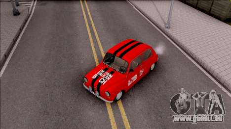 Zastava 750c pour GTA San Andreas vue de droite