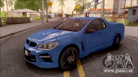 HSV Limited Edition GEN-F GTS Maloo 2014 v2 für GTA San Andreas