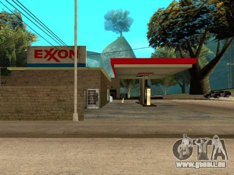 Exxon Gas Station für GTA San Andreas dritten Screenshot