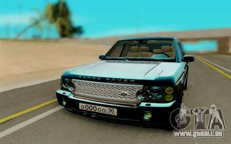 Land Rover Range Rover Supercharged für GTA San Andreas Rückansicht