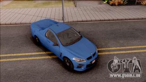 HSV Limited Edition GEN-F GTS Maloo 2014 v2 für GTA San Andreas rechten Ansicht