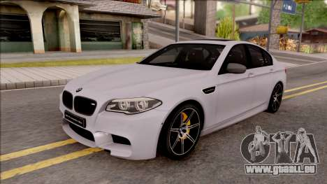 BMW M5 F10 Competition Edition pour GTA San Andreas