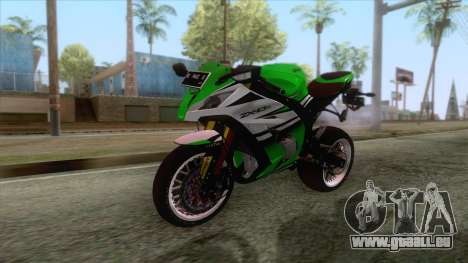 Kawasaki Ninja ZX-10R Ruff Ryder pour GTA San Andreas