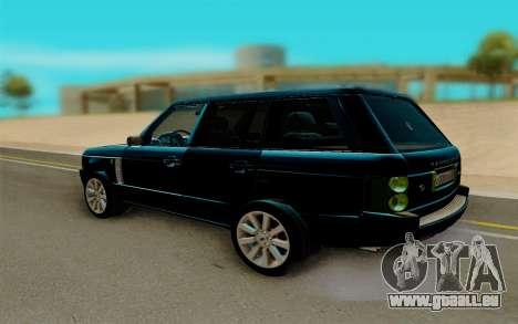 Land Rover Range Rover Supercharged für GTA San Andreas rechten Ansicht