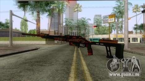 Warface - Orsis T-5000 pour GTA San Andreas deuxième écran