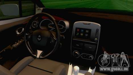 Renault Captur für GTA San Andreas Innenansicht