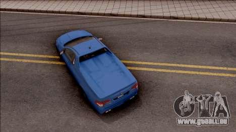 HSV Limited Edition GEN-F GTS Maloo 2014 v2 für GTA San Andreas Rückansicht