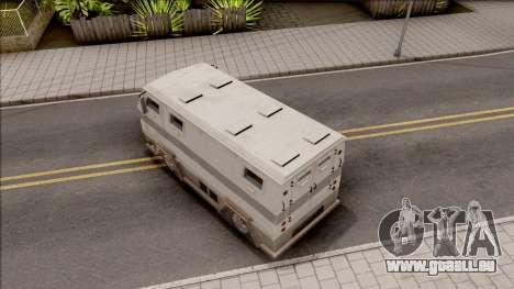 GTA EFLC HVY Brickade pour GTA San Andreas vue arrière