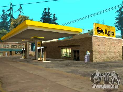Agip Gas Station für GTA San Andreas