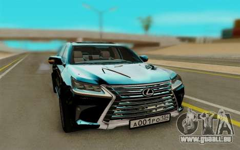 Lexus LX570 pour GTA San Andreas
