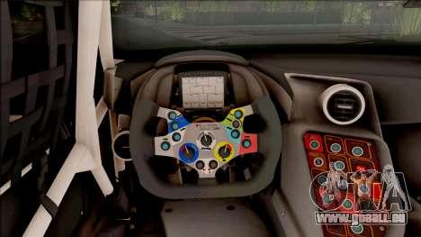 Audi R8 LMS pour GTA San Andreas vue arrière