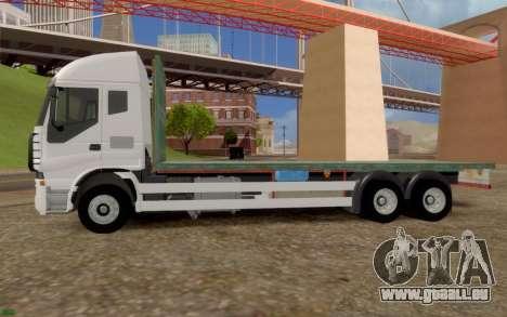 Iveco Stralis Camion PAS EXTRAS pour GTA San Andreas laissé vue