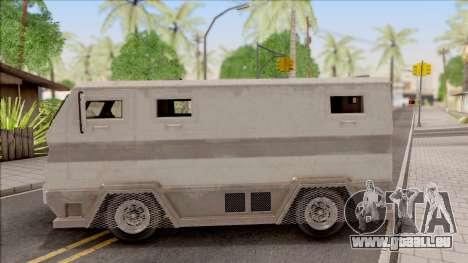 GTA EFLC HVY Brickade pour GTA San Andreas laissé vue