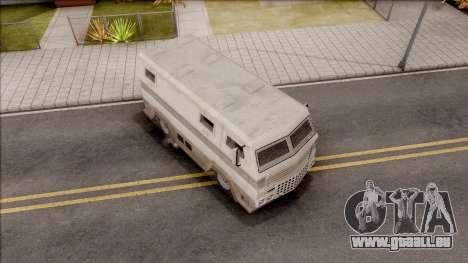 GTA EFLC HVY Brickade pour GTA San Andreas vue de droite