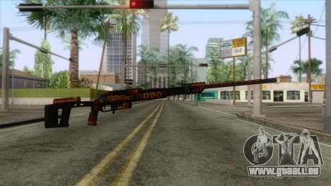 Warface - Orsis T-5000 pour GTA San Andreas