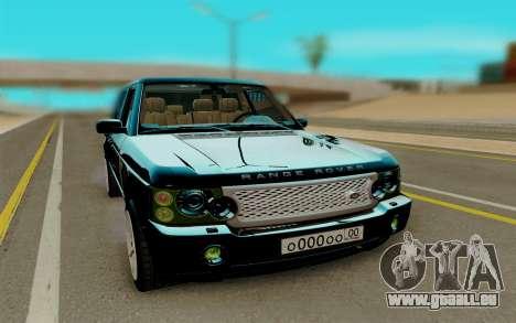 Land Rover Range Rover Supercharged für GTA San Andreas