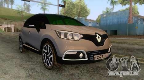 Renault Captur für GTA San Andreas
