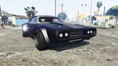 Dodge Charger Fast & Furious 8 [replace]