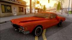 Buick Riviera 1972 Boattail Lowrider Red für GTA San Andreas