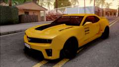 Chevrolet Camaro ZL1 Ngasal Works Kit pour GTA San Andreas