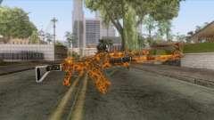 CoD: Black Ops II - AK-47 Lava Skin v1